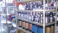 ALL KINDS COFFEE POTS: GLASS, STAINLESS STEEL, PLASTIC PRICE VARIES     Contact us at   ( 972 ) 977-2930 ( 469 ) 278-8447